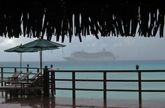Tahitianprincess and rain Hotel KIAORA Tahiti Rangiroa (sapphire_rouge) Tags: france resort kiaora lagoon atoll tahiti rangiroa polynesia snorkeling air nui  franchpolynesia    atool polynsiefranaise  island