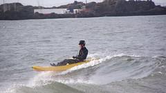 fun by the sea 03 (byronv2) Tags: sea beach river coast scotland surf kayak waves canoe coastal northsea paddling northberwick firthofforth riverforth eastlothian rnbforth
