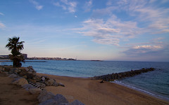 Palamos (miguou) Tags: sunset seascape praia sunrise spain playa catalunya espagne catalogne