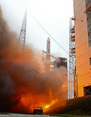 """A ULA Delta IV Medium Launches GPS IIF-9 • <a style=""""font-size:0.8em;"""" href=""""http://www.flickr.com/photos/12150483@N04/16758792780/"""" target=""""_blank"""">View on Flickr</a>"""