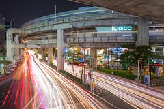 Siam square (oatjirapatt) Tags: city light night thailand cityscape traffic fav50 siam photooftheday fav25 fav100 fav75