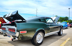 1968 Shelby GT350 (Chad Horwedel) Tags: green classic car illinois shelby springfield gt350 shelbygt350 1968shelbygt350 mcanationalmustangshow