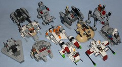 Lego - Microfighters (Darth Ray) Tags: 2 star 1 lego series wars 2014 2015 microfighters