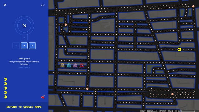 Google Map 的愚人節活動