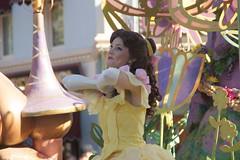 Belle in Disneyland Mickey's Soundsational Parade (GMLSKIS) Tags: california princess disneyland disney parade belle amusementpark anaheim