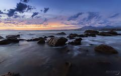 Here Comes Autumn (Bryn De Kocks) Tags: longexposure sunset sky clouds landscape southafrica gordonsbay waterscape sigma1020mm bikinibeach canon50d