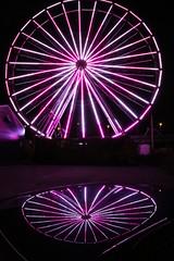 7 (Hoppeball) Tags: colors reflections mirror tivoli ferriswheel amusementpark pariswheel speiling
