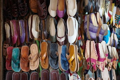 Marrakech - Maroc (samder76) Tags: color happy colorful market couleurs maroc marocco marrakech souk march souq babouches mdina sandales nex5