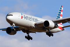American Airlines, Boeing 777-200 N786AN NRT (masak2_ukon) Tags: airplanes narita 成田
