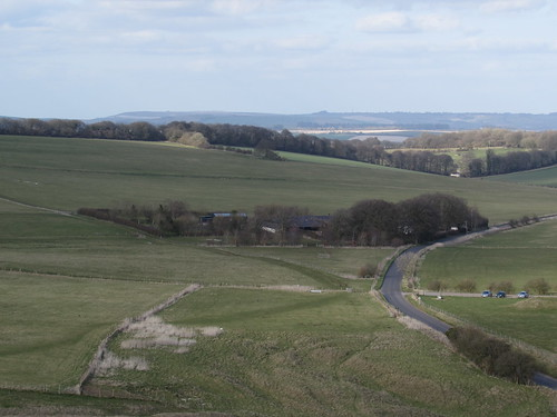 Alton Barnes: Looking North from Adam's Grave (Wiltshire)