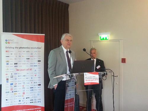 EPIC AGM 2015 speaker Hans-Joachim Grallert