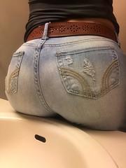 sexy jeans ass
