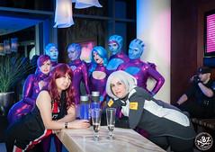 DSC_0680 (N8Zim) Tags: cosplay seatte asari masseffect azures afterlifeclub eccc2015