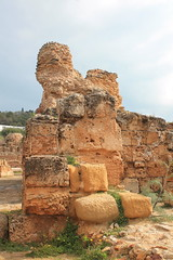 Tunis, Tunisia (LeszekZadlo) Tags: africa heritage history archaeology monument stone site ruins roman tunisia bluesky unesco worldheritagesite historical