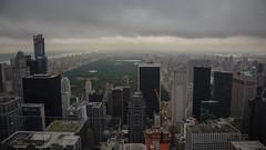 New York. View from Rockefeller Center (Oleg.A) Tags: nyc usa newyork cityscape unitedstates centralpark manhattan rockefellercenter viewpoint megalopolis