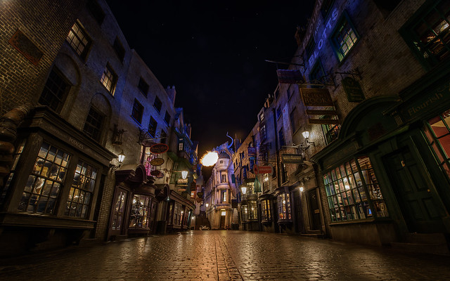 world orlando alley nikon dragon harry potter d750 universal nikkor studios gringotts diagon wizarding 1424mm