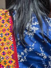 women's clothing (alison ryde - back in town for now) Tags: travel people holiday festival march clothing asia bhutan buddhist buddhism east kira punaka february himalaya traditionalcostume tego phototrip 2015 rachus wonju tribalcostume kingdomofbhutan himalayankingdoms bhutanesepeople alisonryde olympusem1
