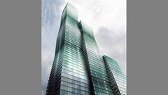Проект небоскеба Wanda Vista Tower в Чикаго от Gang Architects
