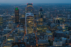 The City (James D Evans - Architectural Photographer) Tags: london architecture skyscrapers cluster towers gherkin tower42 walkietalkie cityoflondon cheesegrater