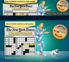 New York's Crosswords _ Fathers Day (lezumbalaberenjena) Tags: art ads corporate design marketing video media graphic social games images branding logotype magmic