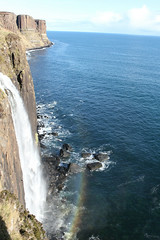 Kilt Rock, Isle of Skye (hazelsoo) Tags: ocean nature landscape scotland waterfall highlands rainbow isleofskye highland oceanview kiltrock