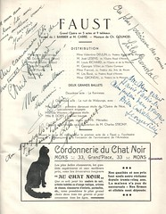 FAUST, MONS, 1937 (Operabilia) Tags: opra mons soprano programme faust monnaie grondal baryton gounod tnor louisrichard thtreroyaldelamonnaie georgesvillier eglantinedeulin claudepascalperna renlits londubressy joslesens