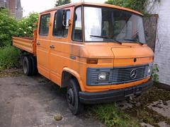 MB L 5008D (Vehicle Tim) Tags: orange truck mercedes mb transporter fahrzeug lkw doka