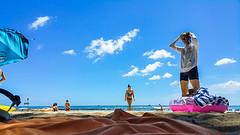 honolulu | waikiki beach (v snow) Tags: hawaii waikiki oahu beachlife beaches honolulu waikikibeach