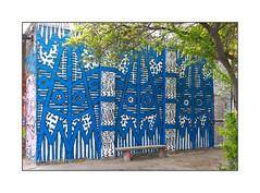 Graffiti (616), East London, England. (Joseph O'Malley64) Tags: uk greatbritain england streetart tree london wall bench graffiti mural paint britain spray workshop british walls cans aerosol brickwork eastend eastlondon 616 wallmural muralist blockpaving paintpen