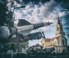 Genre-scene (freshandfun) Tags: church army military serbia weaponry vojvodina armament zrenjanin