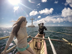 Sunken Cemetery (edlimsanity) Tags: cemetery landscape cross action candid philippines creative christian christianity hdr gopro