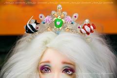 Fairyline Sia by Fairyland (AnnaZu) Tags: fish ariel miniature seahorse handmade tail shell makeup fimo part clay octopus crown manicure bjd mermaid fin magnet fairyland magon sia headband cernit blushing sirene polymer premo minifee watermaid headparts bjdprops annaku fairyline vesnushkahandmade annazu