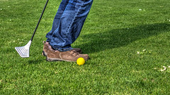SwinGolf Putter (LutzMarl) Tags: game golf sportpark putter swingolf enni rheinkamp