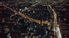 Osaka Marriott Miyako Hotel, Abeno Harukas (1) (Planet Q) Tags: japan marriott osaka marriottmiyakohotel