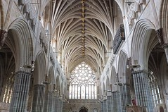 Exeter Cathedral (crashcalloway) Tags: southwest cathedral norman devon exeter neogothic exetercathedral