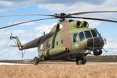 HS-13_Mil_Mi8_FinnishArmy_Utti (Tony Osborne - Rotorfocus) Tags: finland army hip finnish mil 2010 regiment mi8 utti yaeger mi8t