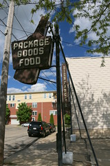 Package Goods Food (Ryan Ojibway) Tags: food sign wisconsin bar goods tavern fortatkinson package wi beinfangs