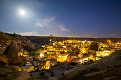 goreme moonlight (eb78) Tags: longexposure nightphotography turkey middleeast fullmoon cappadocia anatolia goreme