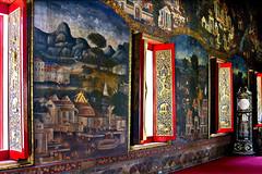 Wat Mahapruettharam  Royal Temple Bangkok (donachadhu) Tags: watmahapruettharam thailand bangkok temple sonya700 murals
