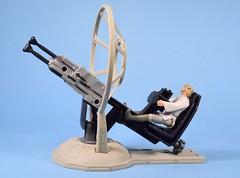 Gunner Station: Millennium Falcon with Luke Skywalker (FranMoff) Tags: lukeskywalker millenniumfalcon lasercannon gunnerstation