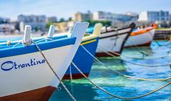 Otrante - Pouilles - Italie (L.M...) Tags: blue sea mer eau italia bleu bateau italie pouilles otrante atranto