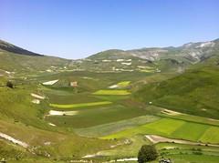 Veduta della piana da Castelluccio di Norcia (alessiodl) Tags: panoramica norcia castelluccio