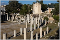 L'Agora Romaine (Christophe Hamieau) Tags: agoraromaine antiquity athens athnes europe greece grce tourdesvents antic antiquit greektemple ruin ruine templegrec