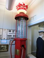 IMG_2384 Antique gas pump (jgagnon63@yahoo.com) Tags: uppermichigan escanaba deltacountyhistoricalmuseum deltacountymi deltacountyhistoricalsociety