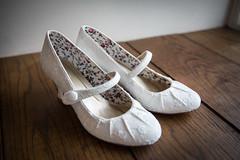 Emma_Mark_150807_019Col (markgibson1977) Tags: bridalprep couples duchraycastle emmamark venues weddings details shoes stagesdetails aberfoyle stirlingscotland scotlanduk