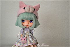 SOLD Who wants a pink cat headband? Fm. If interest