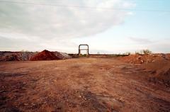 Pipeline. (wojszyca) Tags: zeiss landscape industrial fuji decay pipe contax ii g2 100 katowice pipeline postindustrial manufactured wasteland 21mm biogon proplus szopienice uppersilesia