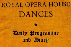 ROH Collections Item of the Month: Dance Card from World War II