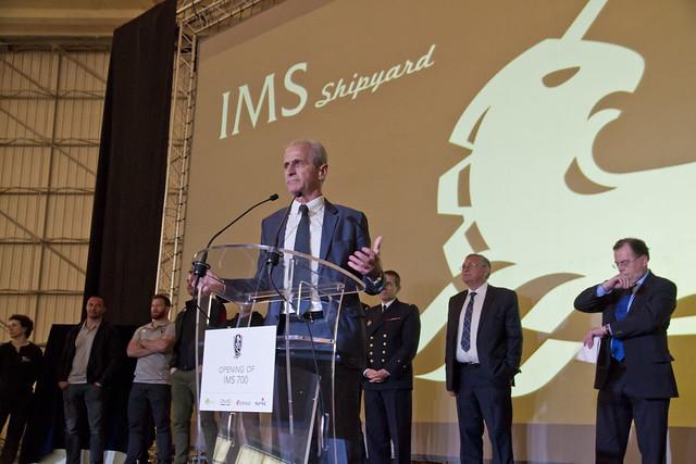 Inauguration IMS 700