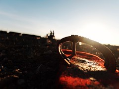 Untitled (Jay-art Seduco) Tags: sunset red silhouette fuji sandals fujifilm paranaque tsinelas sandionisio fujix30 fujifilmx30